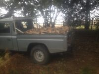 Seasoned logs for sale free delivery