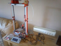 3D Printer Mini Kossel with extra's