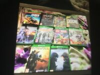Loads new Xbox one games for sale from £9 each to £34 each see pictures ask for prices
