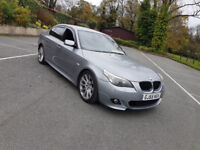 2005 BMW 530D M SPORT,12 MONTHS MOT,SERVICE HISTORY,231 BHP,DRIVES MINT,HPI CLEAR,P/X....525,535,520