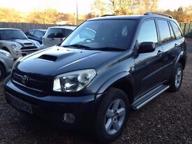 55 REG TOYOTA RAV 4 D-4D DIESEL.5 DDOR HATCHBACK.1OWNER FROM NEW.1YEAR M.O.T.