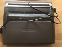 SHARP portable electronic typewriter