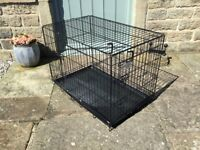 Dog's Life collapsible dog or puppy crate