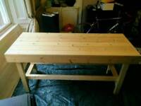 Workbench - solid pine - brand new