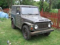 Suzuki LJ80 Jeep very rare getting needs renavation