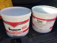 Macpherson Trade Emulsion, brilliant white, 15L, x2, unopened