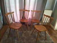 4 beautiful chairs