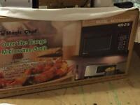 (Still in Box) Hood range with microwave