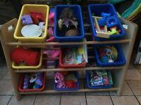 Toy storage boxs