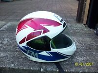 FM Motorbike helmet size (56) excellent condition