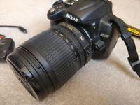 Nikon D5000 DSLR 12.3MP + Nikkor 18-105 lens + Nikon GP1 GPS + remote