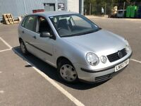 2004 VOLKSWAGEN POLO 1.4CC FULL SERVICE HISTORY WITH MOT LOOKS & DRIVES GREAT