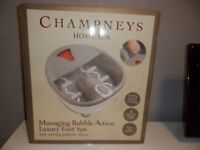 Champneys Foot Spa New and unopened.
