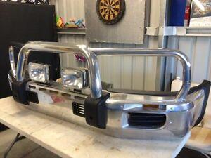 Toyota Landcruiser bull bar Barnawartha Indigo Area Preview