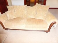 Sterling 4 piece Living room suite in excellent condition must sell next few days hence price