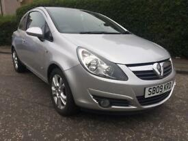 Vauxall Corsa 1.2 SXi (2009) Low Mileage Full Service History NEW TIMING CHAIN