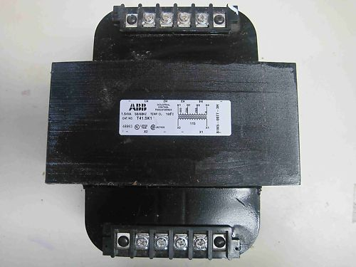 New ABB T41.5K1 Industrial Control Transformer 1500 VA