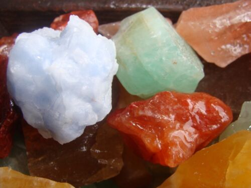 2000 Carat Lots of Unsearched Natural Mixed Calcite Rough+ FREE faceted gemstone