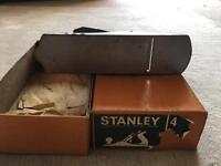 Stanley 4 in original box planer