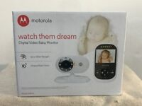 Brand New Motorola Video Baby Monitor MBP25
