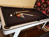 6ft American pool snooker