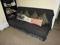 Ikea sofa bed 3/4 seater, good condition