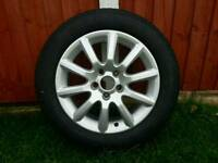 BRAND NEW VAUXHALL ALLOY WITH TYRE SIZE 205/55/16