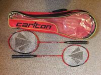 Carlton badminton racket set