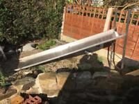 Stainless steel garden slide