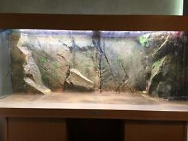 3d aquarium background 120x47