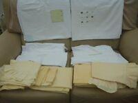 Bedding bundle white/lemon