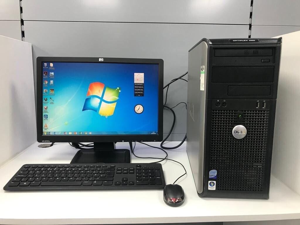 Dell Optiplex 360 Core 2 Duo PC with 19