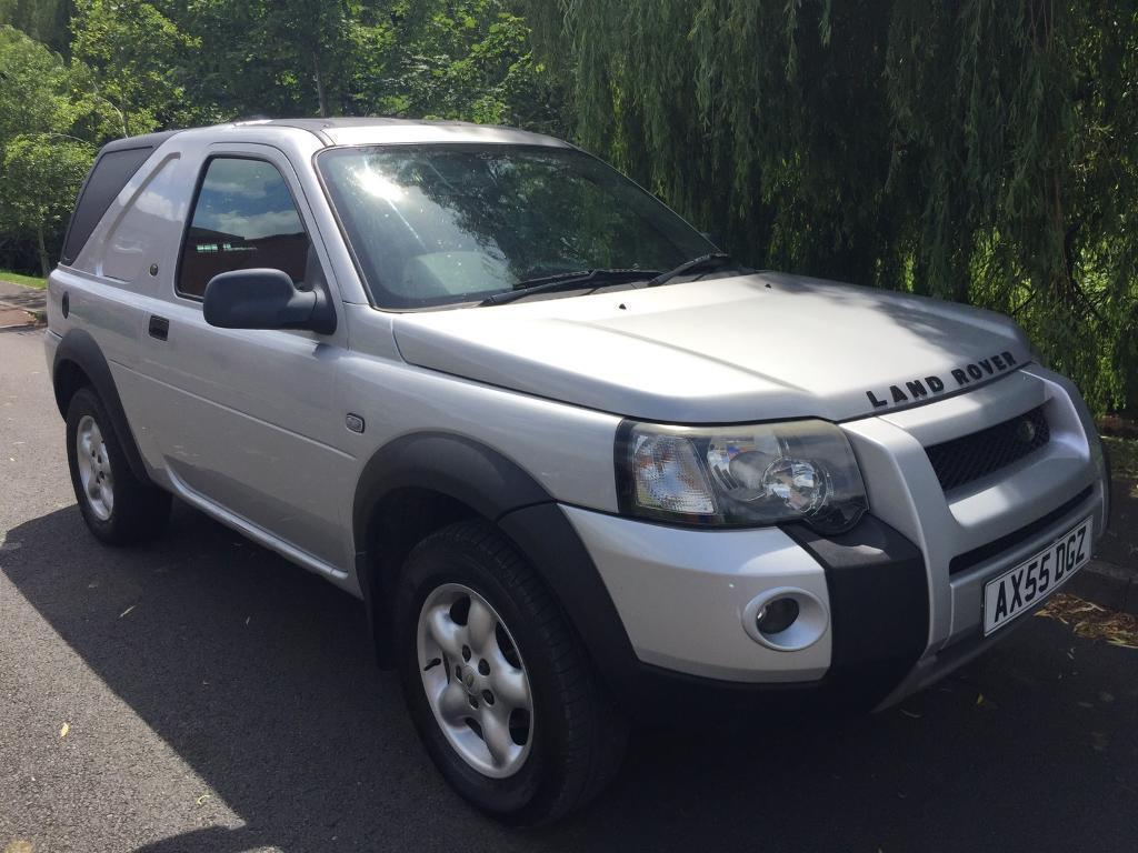 LAND ROVER FREELANDER TD4 SWB 4x4 DERIVED VAN FULL MOT FIRST TO SEE WILL BUY