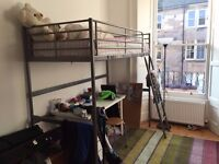Newington: single loft bed for sale, IKEA, good condition, without mattress.