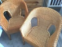 Rattan chair (Pair)