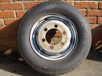ldv convoy wheel with new tyre size 185 r14 c ldv luton transit etc