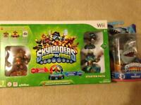 Wii Skylanders Swap Force Starter Pack and Extra Figure