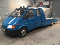 Ford transit crew cab recovery Psv February 2018