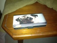 iPhone case with image of Pug Dog on it.