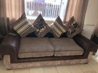 Large 3 seater sofa&single large chair. Excellent condition from pet&smoke free home. Can deliver.