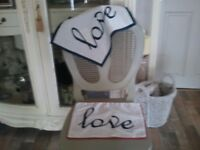 2 LOVE CUSHIONS NEW