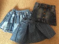 Girls skirts age 2 / 2-3