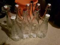 Wine or beer making bottles