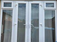 LARGE PATIO DOORS (WHITE)