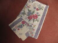 King size Duvet Cover & Pillow cases