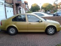 VW Bora 2000 for spares or repair