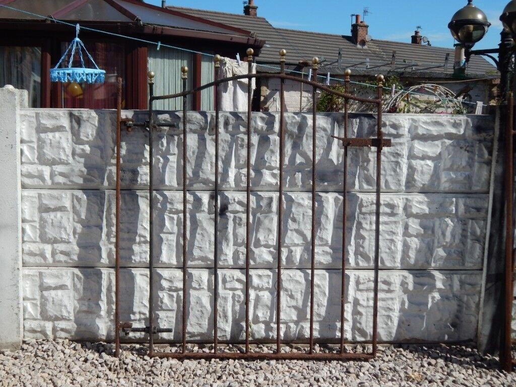 Wrought iron gate / garden gate / metal gate / steel gate / side gate /  house gate / driveway gate   in St Helens, Merseyside   Gumtree