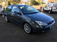 Ford Focus ST170 3dr grey only 71k FSH