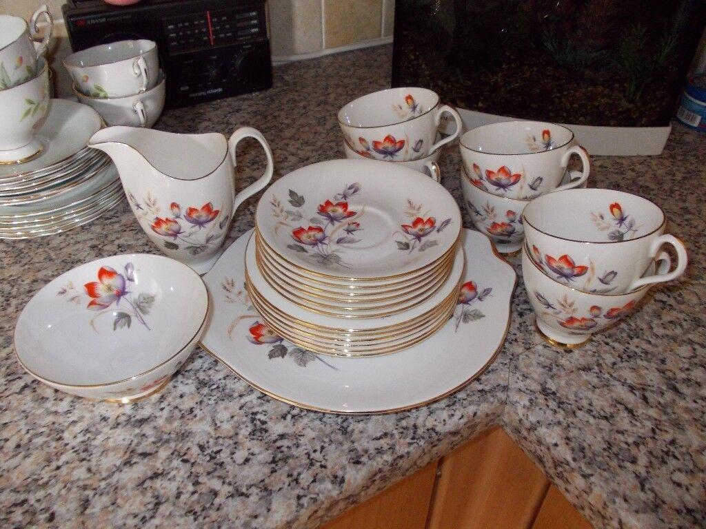 Royal Albert Tea Set Water Meadow Design