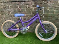 Raleigh purple girls bike 18""